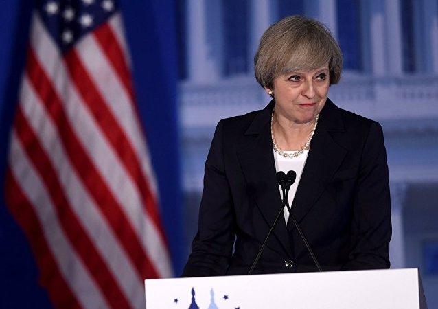 白宫将英国首相的名字拼写错误