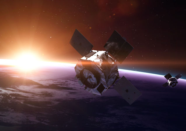 苏联卫星坠入太平洋