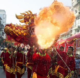 中国新年庆祝活动