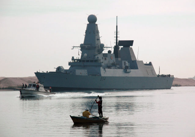 英国海军Diamond号驱逐舰