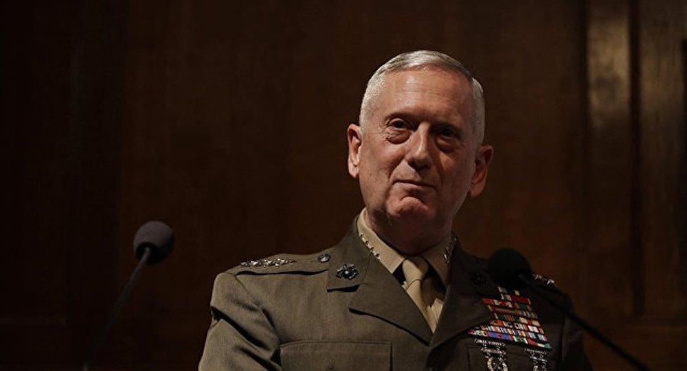 美國國防部長詹姆斯·馬蒂斯
