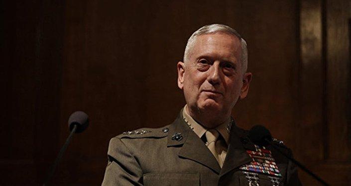 美国新政府的国防部长马蒂斯