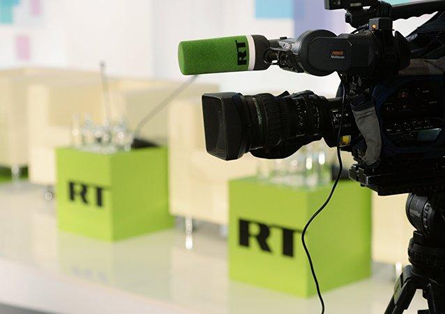 RT阿拉伯语频道负责人向遇难特约外记者家属表示慰问