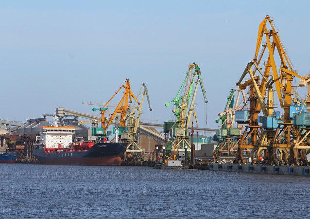 立陶宛的克来彼达港口