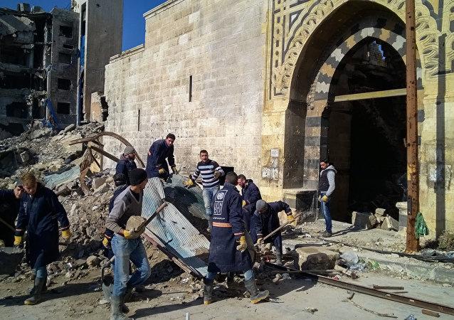稳步推进重建是实现叙利亚长治久安的重要保障