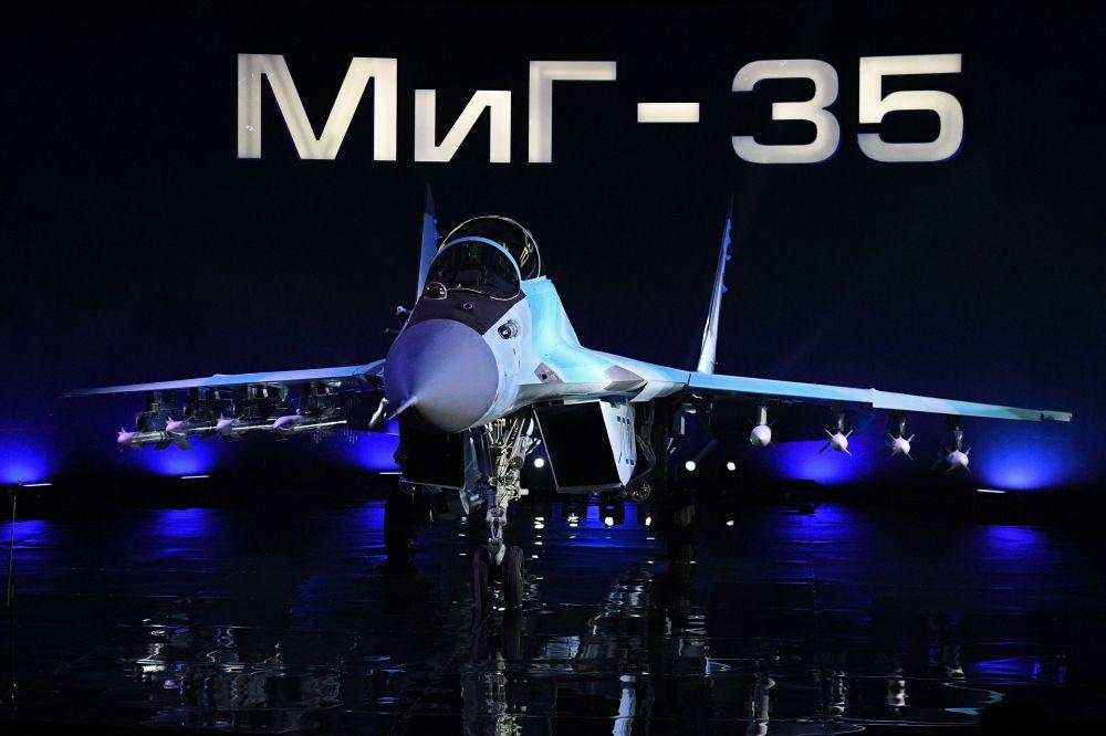 米格-35战机推介演示