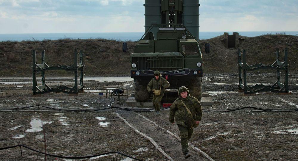 第二個S-400防空導彈營在克里米亞進入戰鬥值勤