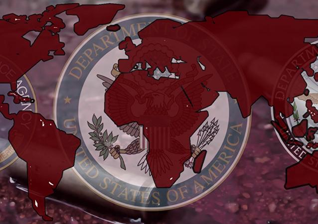 美国对世界政治的干预