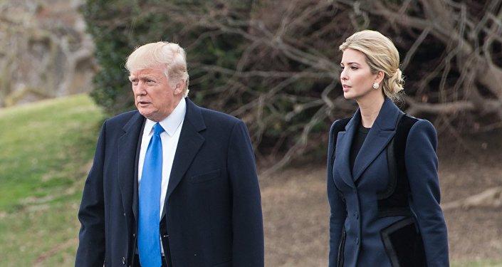 特朗普盛赞女儿能沉着应对媒体攻击