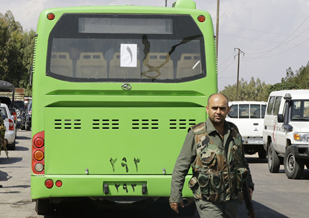 叙利亚军队解放了霍姆斯省的东部村庄