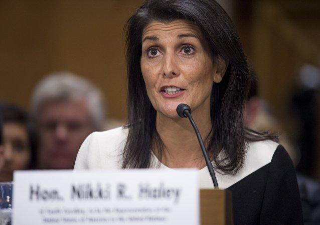 美常驻联合国代表妮基·海利
