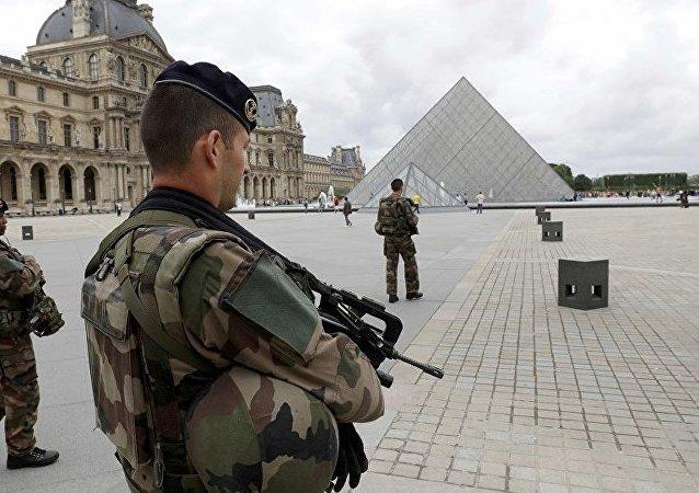 媒体:在卢浮宫附近袭击巡逻兵的男子身体状况恶化 已被释放