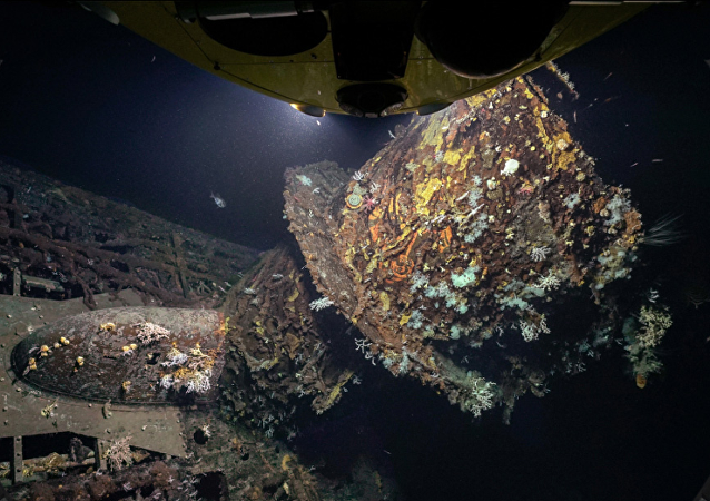 亚速尔群岛附近发现二战德国潜艇