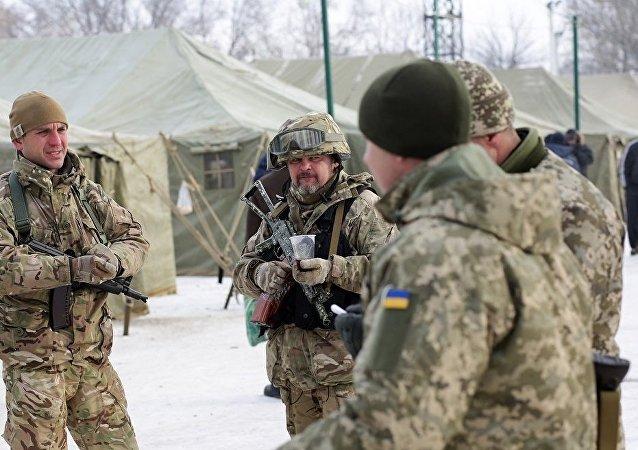 乌军顿巴斯军事行动以来减员超过3000人