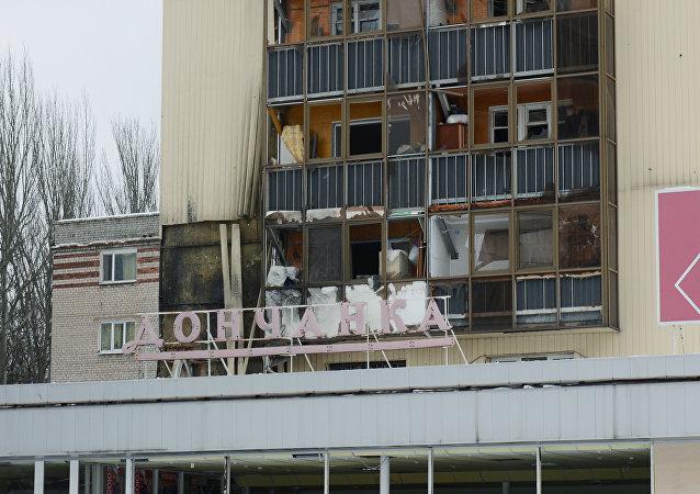 乌克兰国防部宣布顿巴斯局势急剧恶化