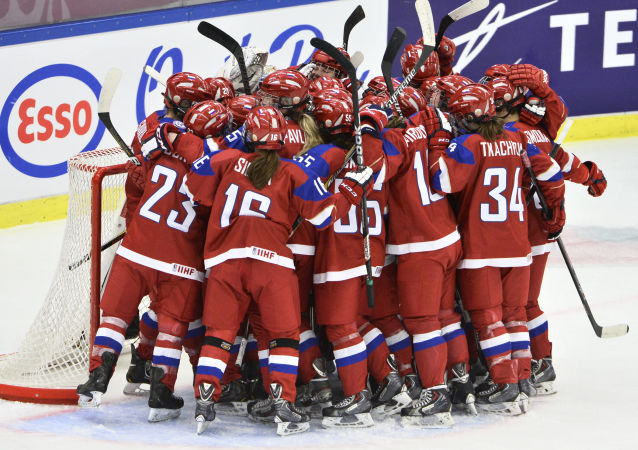 俄罗斯女子冰球队