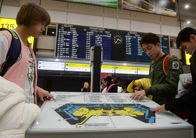"""中国春节""""黄金周""""期间约有4千名中国游客前往莫斯科和圣彼得堡旅行"""