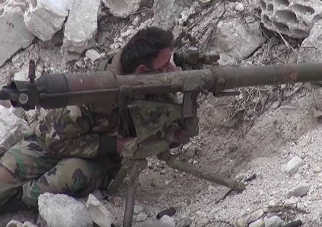 叙军正大力追踪恐怖分子