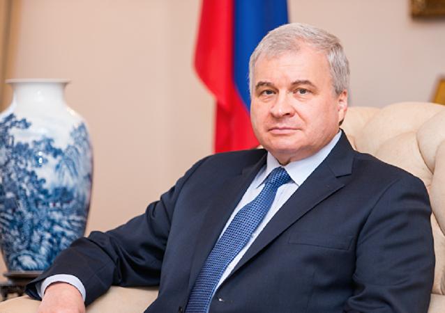 俄驻华大使安德烈·杰尼索夫