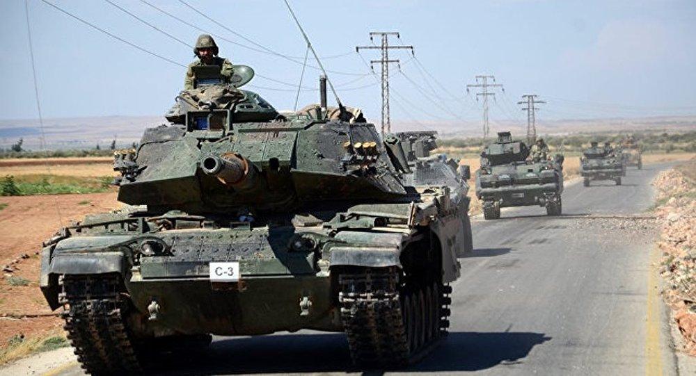 土耳其为避免与叙政府军冲突正与俄方协调其在叙巴卜的行动