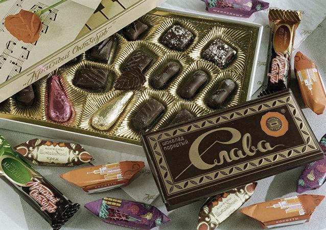 俄出口中心:2017年在中国最受欢迎的俄食品是糖果和杂货