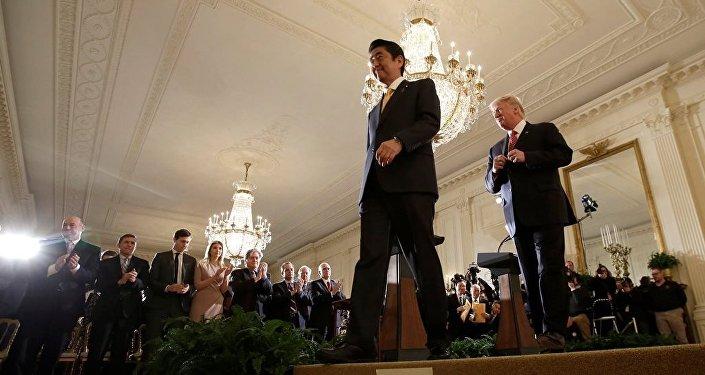 安倍晋三:美日两国将共同防止出现改变亚太地区现状的力量