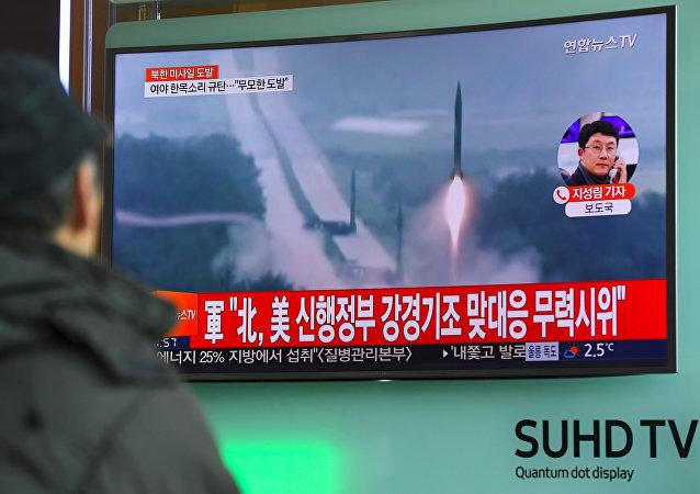 美日韩要求联合国安理会就朝鲜导弹试射召开紧急会议,会议预计2月13日举行