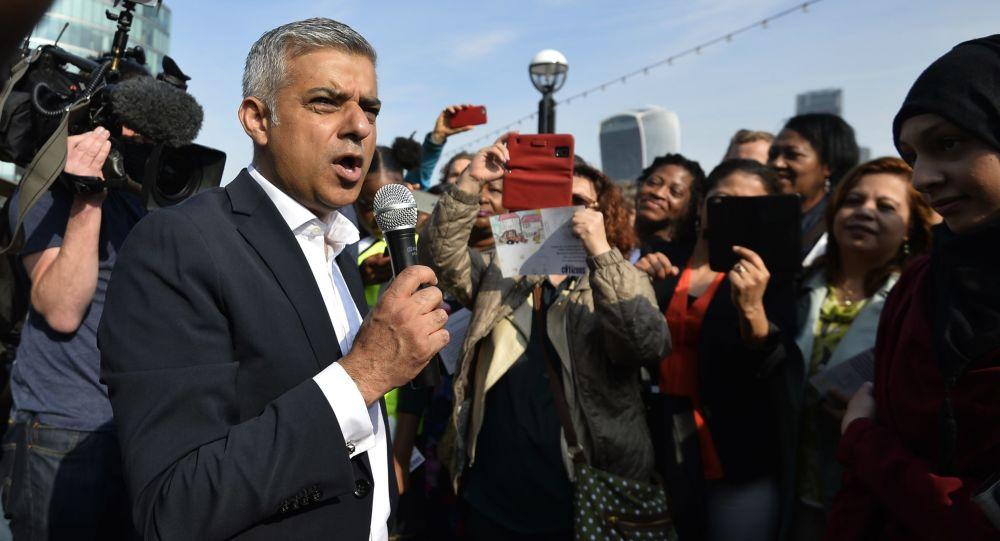倫敦市長薩迪克•阿曼•汗