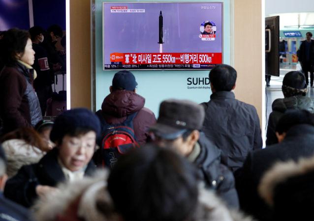 媒体:韩军方认为朝鲜试验洲际弹道导弹的可能性较小
