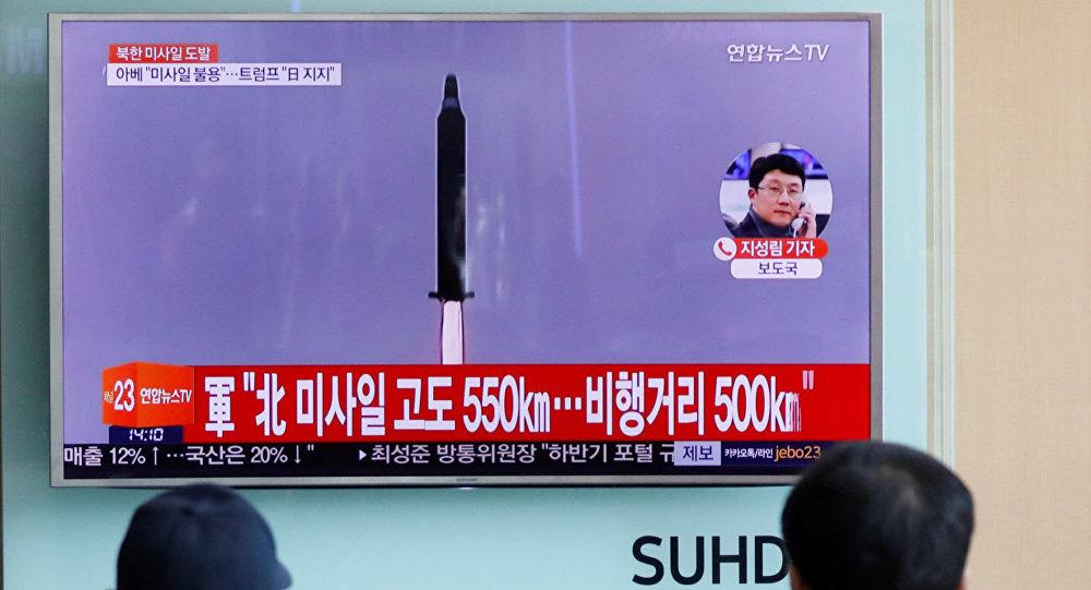 联合国安理会谴责朝鲜违反6项决议进行弹道导弹试验