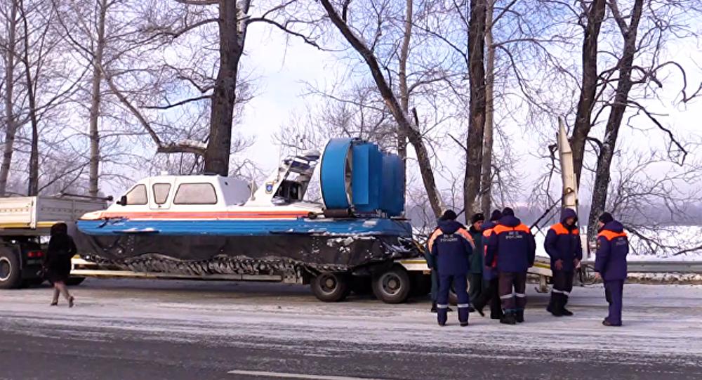俄阿尔泰共和国已恢复失事罗宾逊R-66直升机的搜寻工作