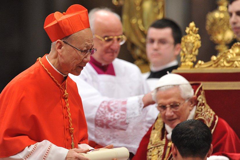 天主教香港教区正权主教汤汉枢机