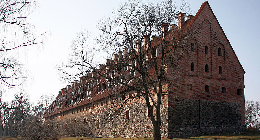 """""""普鲁士埃劳""""(Preussisch Eylau)骑士团城堡"""