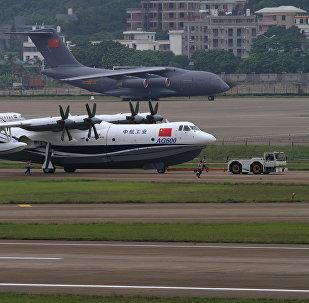 媒体:中国造全球最大两栖飞机AG600计划于5月试飞