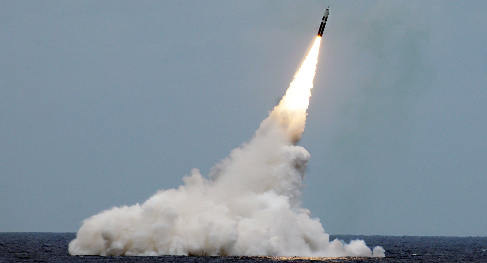 美国国防部新闻稿称,美国国防部向洛克希德·马丁公司提供生产三叉戟II(Trident II)弹道导弹合同。