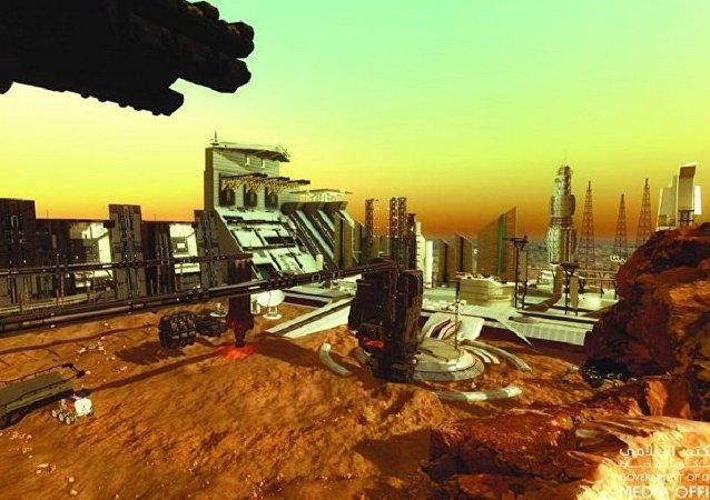 """迪拜将建""""火星城区""""为星际移民做准备"""
