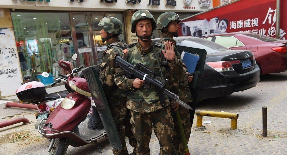 港媒:恐怖袭击后,新疆皮山安保升级
