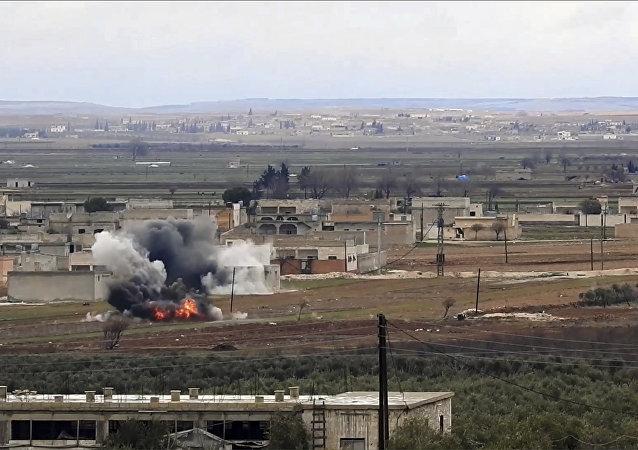 土耳其空襲敘阿夫林致9死13傷