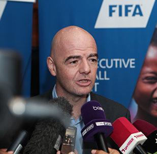 國際足球聯合會主席詹尼·因凡蒂諾