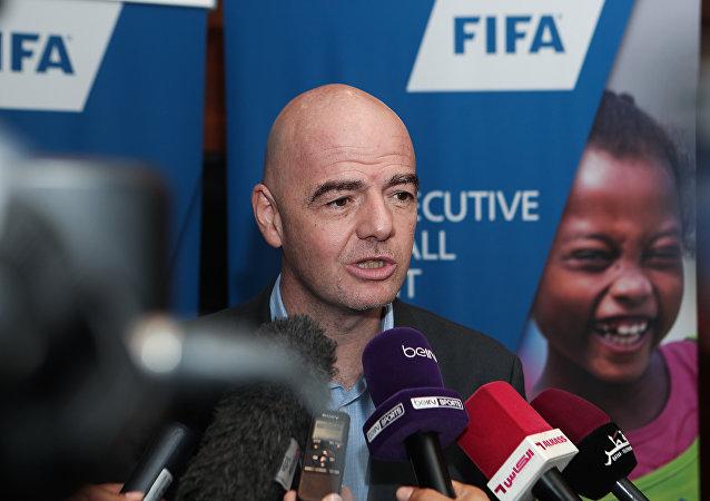 国际足球联合会主席詹尼·因凡蒂诺