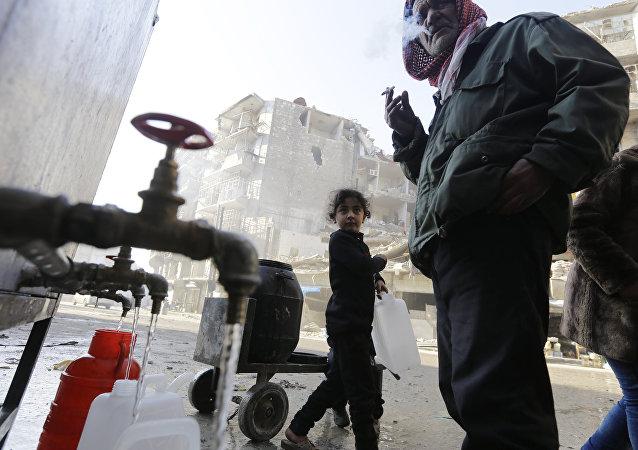 叙阿勒颇市大部分地区供水将于近日恢复