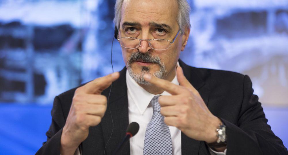 叙利亚常驻联合国代表巴沙尔·贾法里