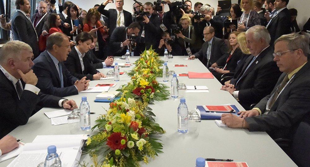 俄外长:俄美确定反恐共同意愿