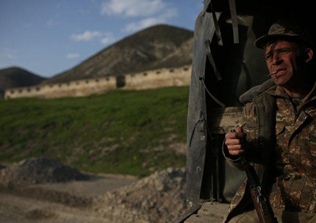阿塞拜疆国防部称过去一昼夜内卡拉巴赫地区125次违反停火制度