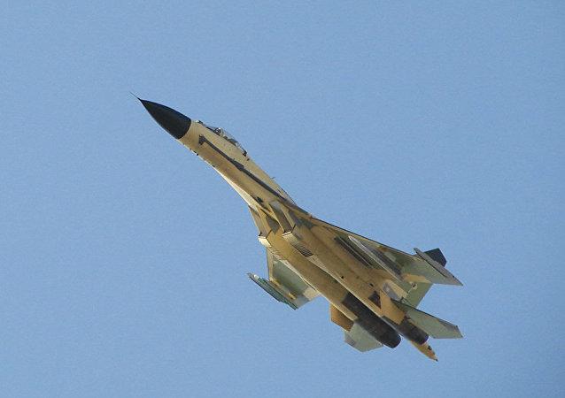 媒体:俄海军航空兵2017年将接装5架苏-30SM战机