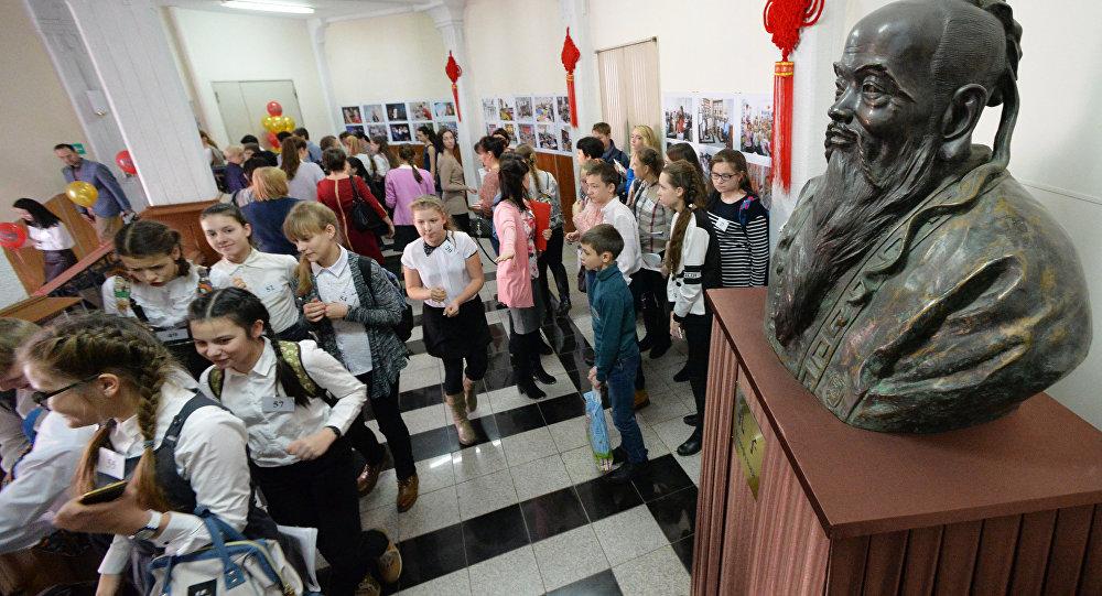 调查:孔子是俄学生最熟悉的中国思想家