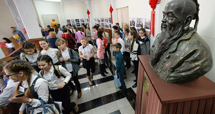 全俄中学生汉语奥林匹克竞赛最终轮在滨海边疆区开幕