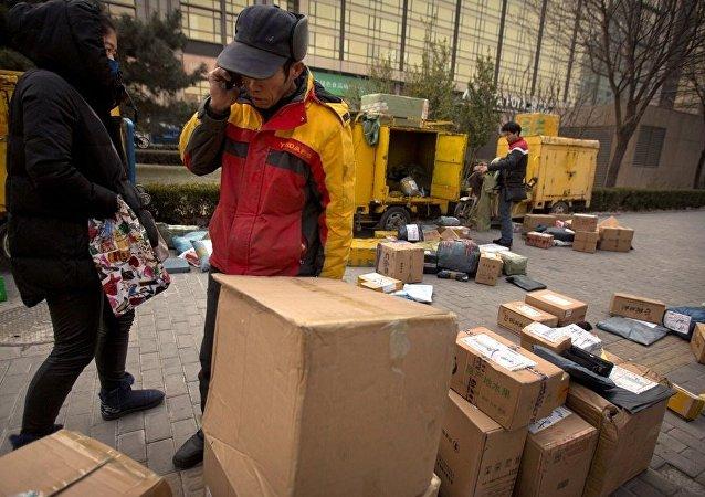 外媒: 中国网络购物的发展带来环境风险
