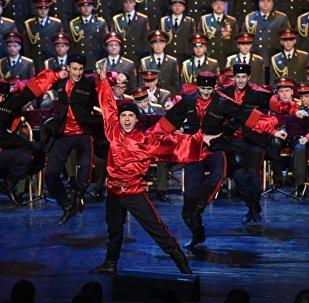 亚历山德罗夫红旗歌舞团