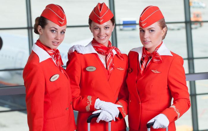 俄罗斯航空公司空姐